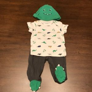 Carter's Dinosaur Outfit